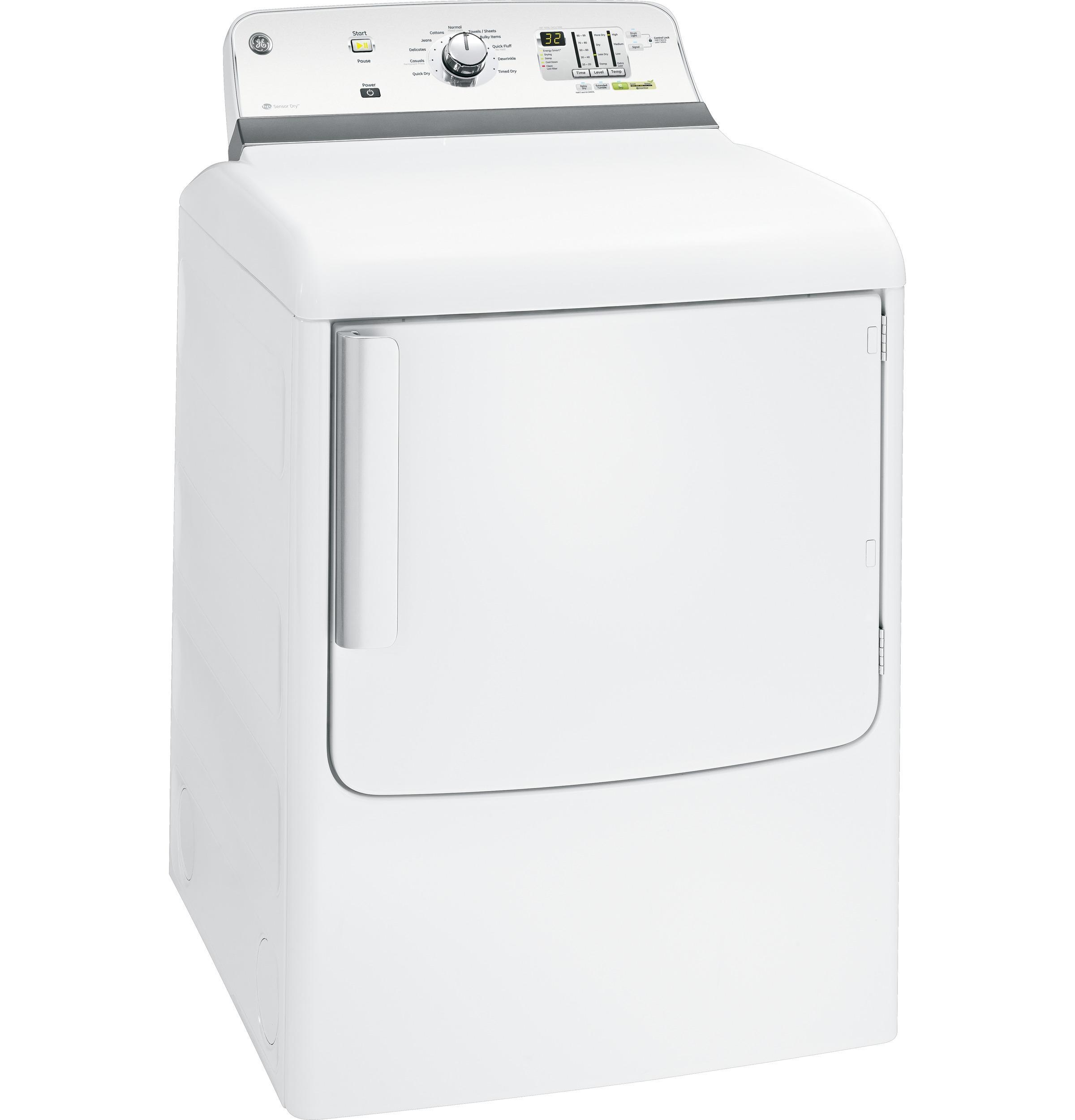 Gtdl740gdww General Electric Gtdl740gdww Gas Dryers White