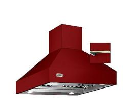 Brand: Viking, Model: VCIH3608BKCR4, Color: Apple Red