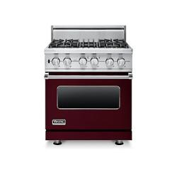 Brand: Viking, Model: VDSC5304BSSBR, Fuel Type: Burgundy - Liquid Propane