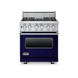 Brand: Viking, Model: VDSC5304BCH, Fuel Type: Cobalt Blue - Liquid Propane
