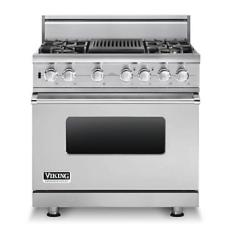 Brand: Viking, Model: VDSC5364QDJ, Fuel Type: Stainless Steel, Liquid Propane