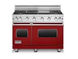 Brand: Viking, Model: VGCC5484GQWHBR, Fuel Type: Apple Red - Natural Gas