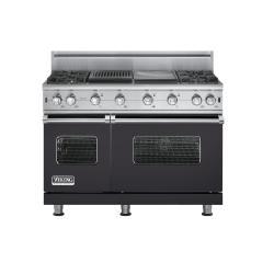 Brand: Viking, Model: VGCC5484GQWHBR, Fuel Type: Graphite Gray - Natural Gas