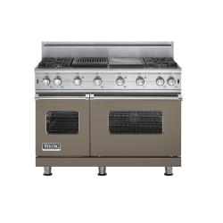 Brand: Viking, Model: VGCC5484GQCNLP, Fuel Type: Stone Gray - Natural Gas