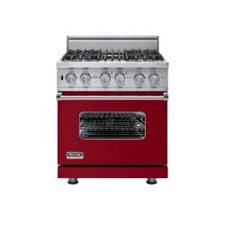 Brand: Viking, Model: VGSC5304BWS, Fuel Type: Apple Red - Natural Gas