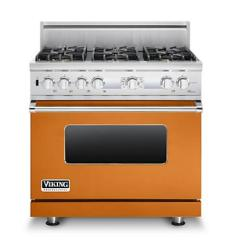 Brand: Viking, Model: VDSC536T6BSG, Fuel Type: Cinnamon, Natural Gas