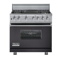 Brand: Viking, Model: VGSC5364QDJ, Fuel Type: Graphite Gray - Natural Gas