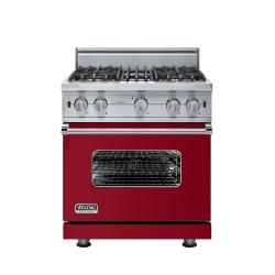 Brand: Viking, Model: VGCC5304BSSLP, Fuel Type: Apple Red - Natural Gas