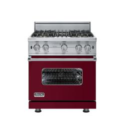 Brand: Viking, Model: VGCC5304BSSLP, Fuel Type: Burgundy - Natural Gas