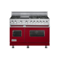 Brand: Viking, Model: VGSC5486GSSBR, Fuel Type: Apple Red, Natural Gas