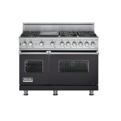 Brand: Viking, Model: VGSC5486GSSBR, Fuel Type: Graphite Gray, Natural Gas