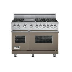 Brand: Viking, Model: VGSC5486GSSBR, Fuel Type: Stone Gray, Natural Gas