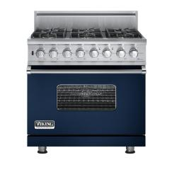 Brand: Viking, Model: VGSC5366BWHBR, Fuel Type: Viking Blue - Natural Gas