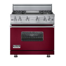 Brand: Viking, Model: VGCC5364GWH, Fuel Type: Burgundy - Natural Gas
