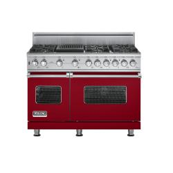 Brand: Viking, Model: VGSC5486QSGLP, Fuel Type: Apple Red, Natural Gas