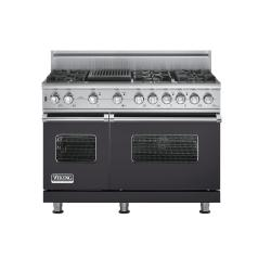 Brand: Viking, Model: VGSC5486QSGLP, Fuel Type: Graphite Gray, Natural Gas