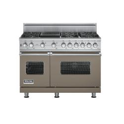 Brand: Viking, Model: VGSC5486QSGLP, Fuel Type: Stone Gray, Natural Gas