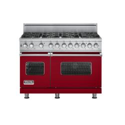 Brand: Viking, Model: VGSC5488BWH, Fuel Type: Apple Red - Natural Gas