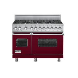 Brand: Viking, Model: VGSC5488BSS, Fuel Type: Burgundy - Natural Gas