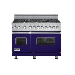 Brand: Viking, Model: VGSC5488BWH, Fuel Type: Cobalt Blue - Natural Gas