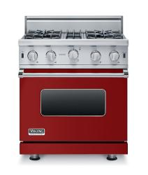 Brand: Viking, Model: VGIC53014BBK, Fuel Type: Apple Red - Natural Gas