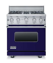 Brand: Viking, Model: VGIC53014BBK, Fuel Type: Cobalt Blue - Natural Gas