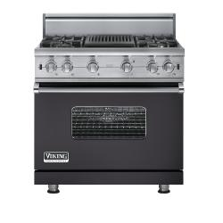 Brand: Viking, Model: VGCC5364QVB, Fuel Type: Graphite Gray - Natural Gas