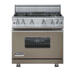 Brand: Viking, Model: VGCC5364QSSLP, Fuel Type: Stone Gray - Natural Gas