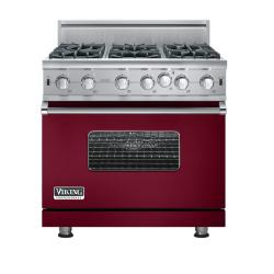 Brand: Viking, Model: VGIC5366BCBLP, Fuel Type: Burgundy - Natural Gas