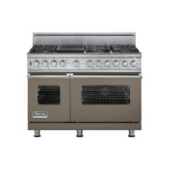 Brand: Viking, Model: VDSC5486QWH, Fuel Type: Stone Gray, Natural Gas