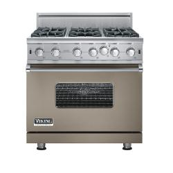 Brand: Viking, Model: VGIC5366BCBLP, Fuel Type: Stone Gray - Natural Gas