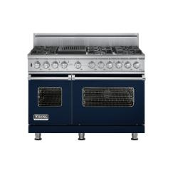 Brand: Viking, Model: VDSC5486QWH, Fuel Type: Viking Blue, Natural Gas