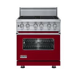 Brand: Viking, Model: VISC5304BSSBR, Color: Apple Red