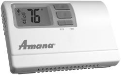 Brand: Amana, Model: 2246007, Style: Non-Programmable Thermostat