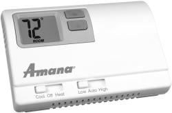 Brand: Amana, Model: 2246003, Style: Non-Programmable Thermostat