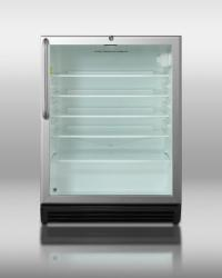 Brand: SUMMIT, Model: SCR600BLBITBADA, Style: Stainless Cabinet with Towel Bar Handle