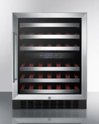 Brand: SUMMIT, Model: SWC530LBISTADA, Color: Stainless Steel Cabinet