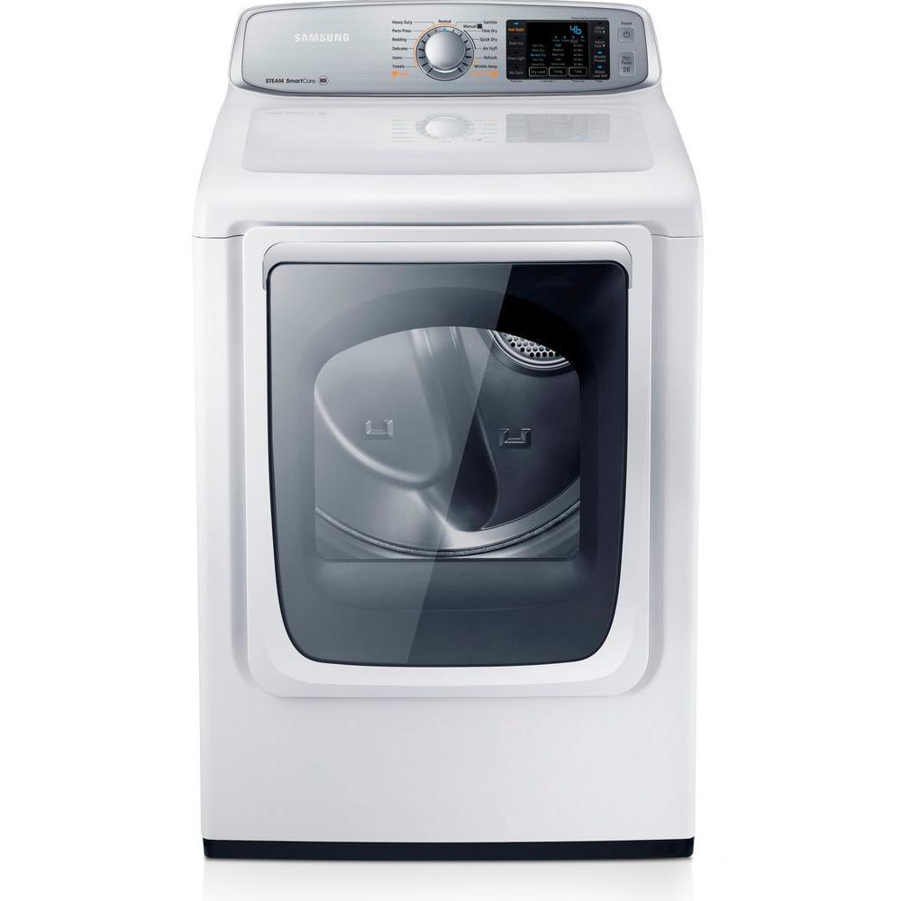 Dv50f9a6gvw Samsung Dv50f9a6gvw Gas Dryers White