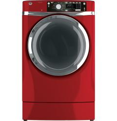 Brand: GE, Model: GFDR485GFRR, Color: Red