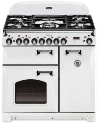 Brand: AGA, Model: ALEG36DFCDBLK, Color: Vintage White with Cathedral Door