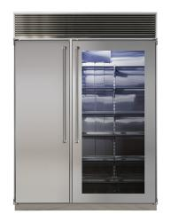Brand: Marvel Pro, Model: MPRO60CSSSGX, Style: Stainless Steel Glass Door, Stainless Interior