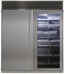 Brand: MARVEL, Model: MPRO72CSSSS, Color: Stainless Steel Glass Door