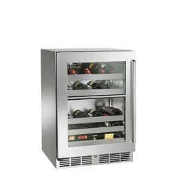 Brand: PERLICK, Model: HP24DO2L, Style: Stainless Steel Glass Left Hinge Door