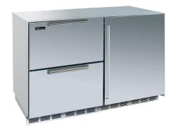 Brand: PERLICK, Model: HP48FRS2L4R, Style: Stainless Drawers/ Right Hinge Solid Stainless