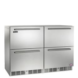 Brand: PERLICK, Model: HP48FRS2L4R, Style: Stainless drawers/ Stainless Drawers