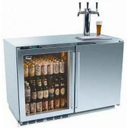 Brand: PERLICK, Model: HP48RTO3L1R1, Color: Stainless Steel solid door 3 tap