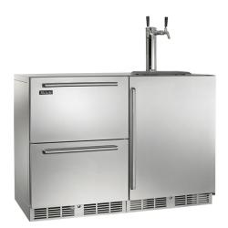 Brand: PERLICK, Model: HP48RTO51R3, Color: Stainless Steel solid door 2 tap