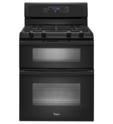 Brand: Whirlpool, Model: WGG555S0BS, Color: Black
