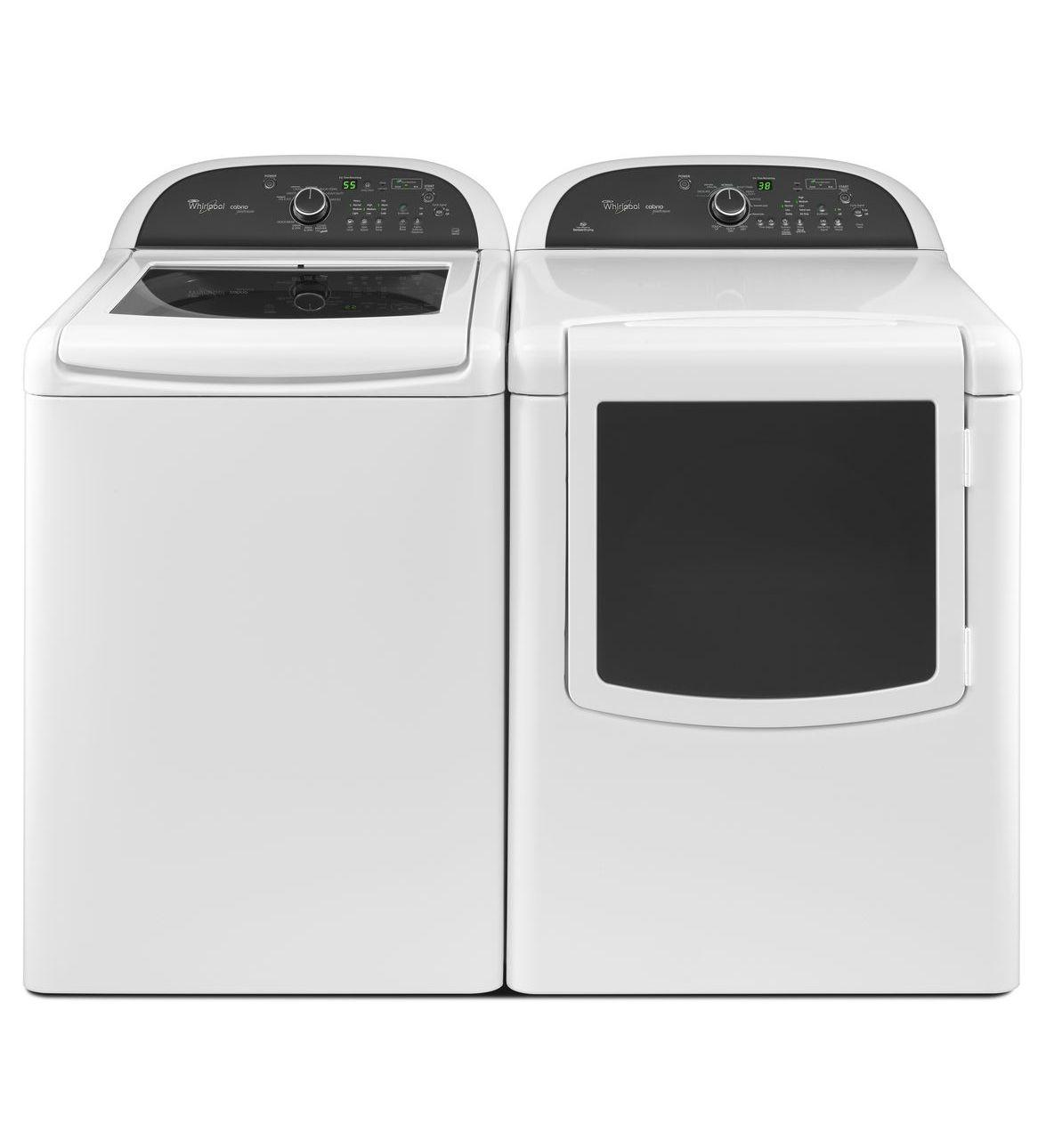 Whirlpool Wtw8100bw 28 Quot Top Load Washer With 4 5 Cu Ft