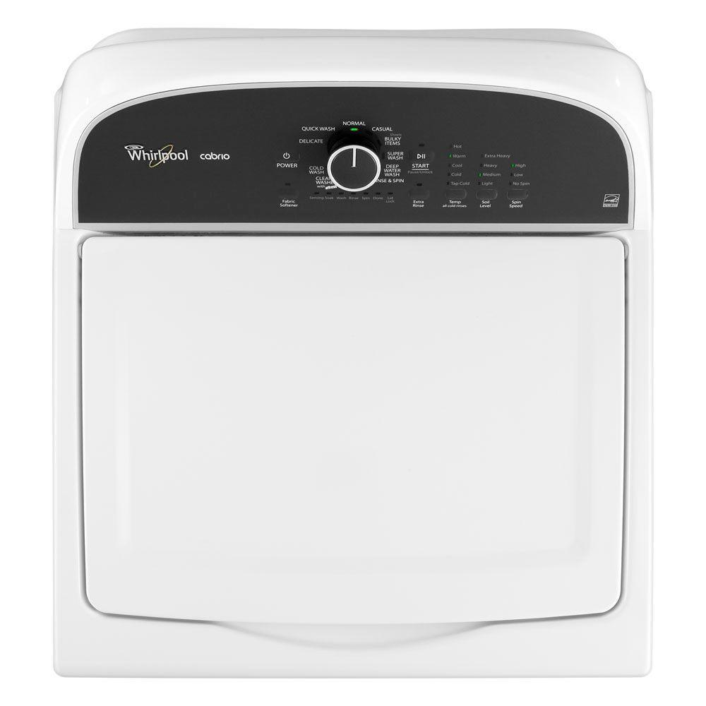 "Whirlpool WTW5500BW 27"" Top-Load Washer With 3.8 Cu. Ft"
